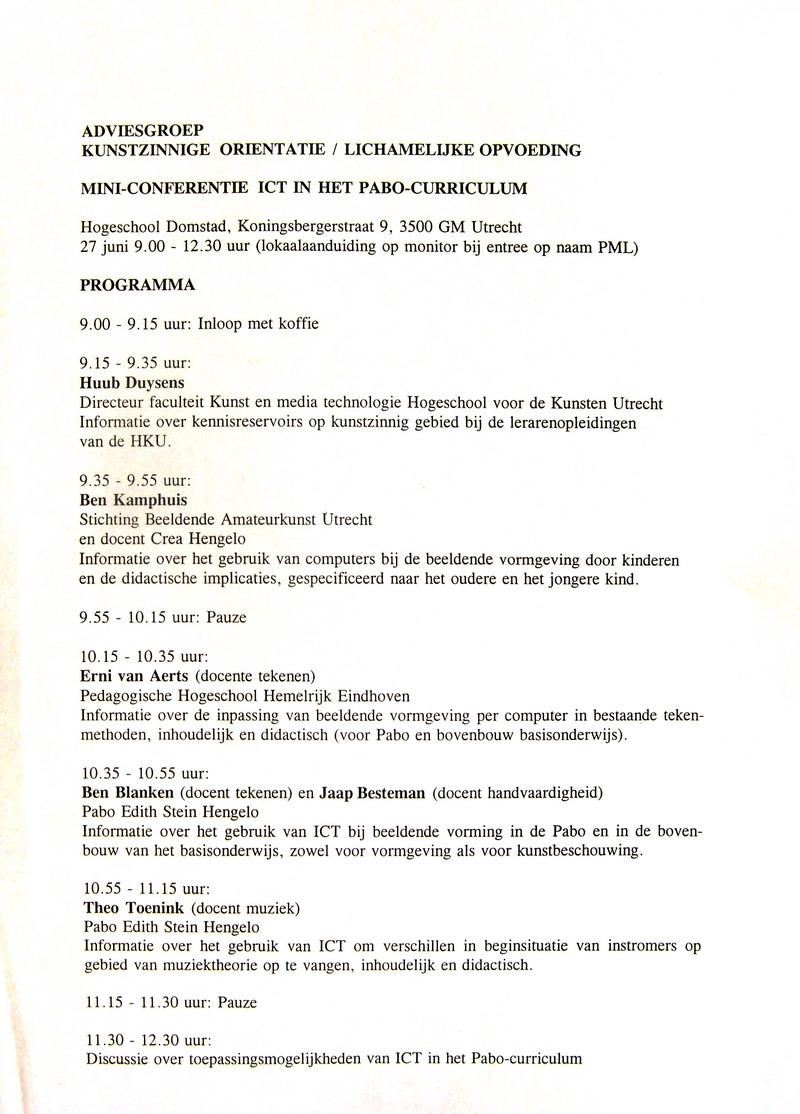 Portfolio and Resume(CV) BP Kamphuis   werkzaamheden adviseur